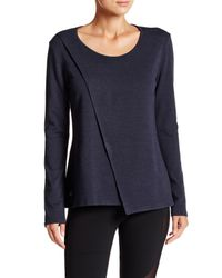 Alo Yoga - Blue Kira Long Sleeve Tee - Lyst