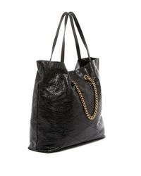 Lanvin - Black Sugar Medium Quilted Leather Shopper - Lyst