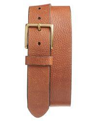 1901 - Brown Merritt Leather Belt for Men - Lyst