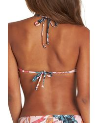 Billabong - Multicolor Coastal Luv Bikini Top - Lyst