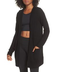 Zella - Black Cashmere Wool Wrap - Lyst