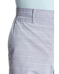 """Original Penguin - Blue 9"""" Even Horizontal Stripe Short for Men - Lyst"""