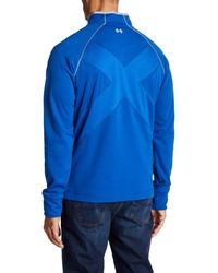 Robert Graham - Blue Taylore Sip Knit Pullover for Men - Lyst
