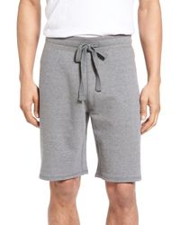 Tailor Vintage - Gray Reversible French Terry Sweat Short for Men - Lyst