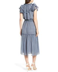 MISA - Blue Meliss Dress - Lyst