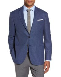 Todd Snyder - Blue Trim Fit Wool Blazer for Men - Lyst
