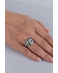 Carolyn Pollack - Sterling Silver White Moonstone Filigree Round Ring - Lyst
