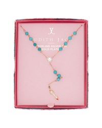 Judith Jack - Blue Inspire Me Boxed Arrow Pendant Y-necklace - Lyst