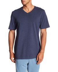 Joe's Jeans - Blue Marine Layer V-neck Tee for Men - Lyst