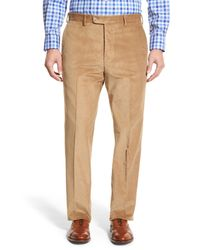 JB Britches - Multicolor Flat Front Corduroy Trousers for Men - Lyst