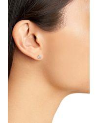 Nordstrom - Metallic Pave Stud Earrings - Lyst