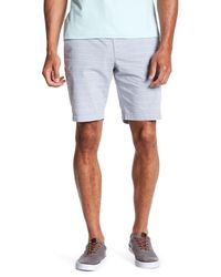 "Original Penguin | Blue 9"" Even Horizontal Stripe Short for Men 