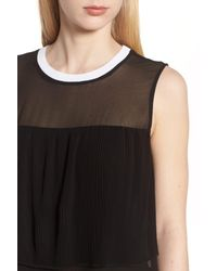 Trouvé Black Mesh Tunic