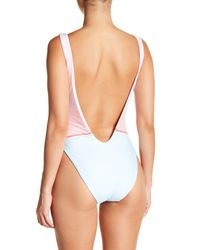 The Bikini Lab - Multicolor Printed One-piece Swimsuit - Lyst