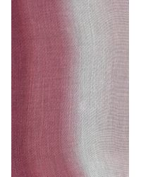Vince Camuto - Pink Colorblock Ombre Scarf - Lyst