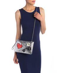 Love Moschino - Metallic Handbag - Lyst