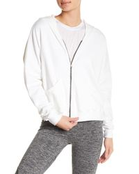Feel The Piece - White Marion Hi-lo Hoodie - Lyst