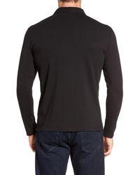 Robert Barakett - Black 'banff' Regular Fit Polo for Men - Lyst