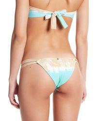 Ále By Alessandra Multicolor Skinny Dip Brazilian Bikini Bottoms