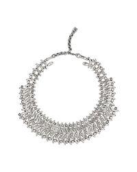Uno De 50 - Metallic Where Am I Geometric Shape Collar Necklace - Lyst