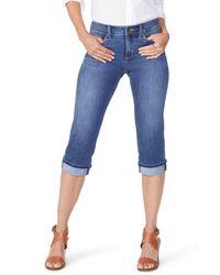 fb431a21e97 Women s Blue Marilyn High Waist Cuffed Stretch Crop Jeans (pampelonne) ( regular   Petite)