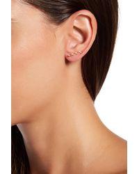 Gorjana - Metallic Zigzag Ear Climbers - Lyst
