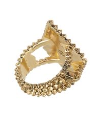 House of Harlow 1960 - Metallic Central Highlands Pyramid Ring - Size 7 - Lyst