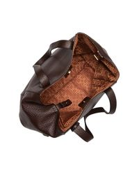 Lodis Brown Borego Charlize Rfid Leather Tote Bag