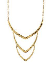 Gorjana Metallic Sia Wrap Necklace