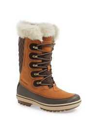 Helly Hansen - Brown 'garibaldi' Waterproof Snow Boot - Lyst
