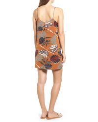 Lush | Multicolor Square Neck Slipdress | Lyst