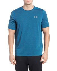 Under Armour - Blue Threadborne Siro 3c Twist T-shirt for Men - Lyst