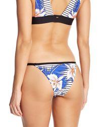 Rip Curl - Blue Hot Shot Brazilian Bikini Bottom - Lyst