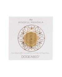 Dogeared - Metallic The Mindful Mandala Ring - Lyst