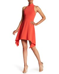 Cinq À Sept - Red Julia Back Cutout Dress - Lyst