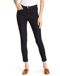 Democracy - Blue High Rise Jeggings - Lyst