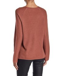 Vince - Multicolor V-neck Cashmere Sweater - Lyst