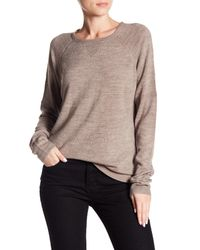Sweet Romeo - Multicolor Solid Raglan Sweater - Lyst