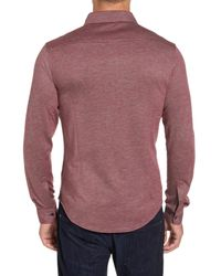 Bugatchi - Multicolor Regular Fit Pique Knit Sport Shirt for Men - Lyst