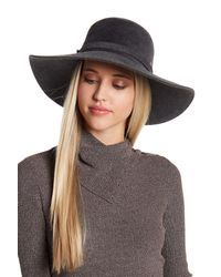 Helen Kaminski - Gray Marosa Felted Hat - Lyst