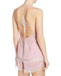 Honeydew Intimates - Pink Chiffon Pajamas 2-piece Set - Lyst