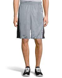 Champion - Gray Reversible Mesh Short for Men - Lyst