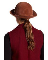 Helen Kaminski - Red Sadela 9 Hat - Lyst