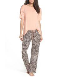 Pj Salvage - Pink Pajamas - Lyst