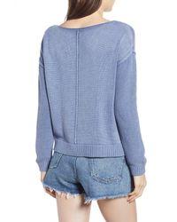 Rails - Blue Erin Knit Sweater - Lyst