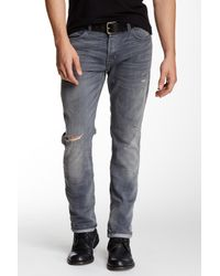 Hudson - Blue Sartor Slouchy Skinny Jean for Men - Lyst