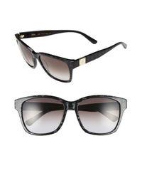 MCM - Black Visetos 59mm Retro Sunglasses - Lyst