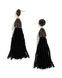 BaubleBar - Black 'pinata' Tassel Earrings - Lyst