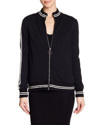 Pam & Gela - Black Slouchy Track Jacket - Lyst