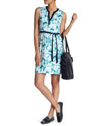 Tommy Bahama - Blue Naxos Blooms Short Jersey Dress - Lyst